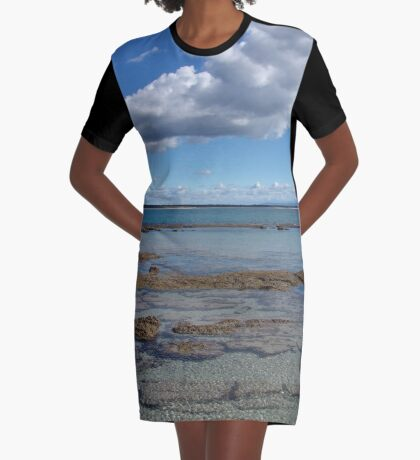 By the Bay Graphic T-Shirt Dress