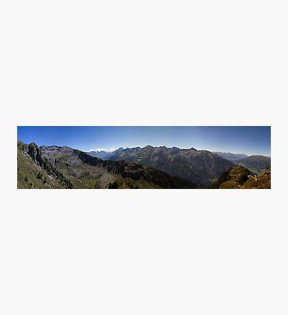 Along the ridge Photographic Print