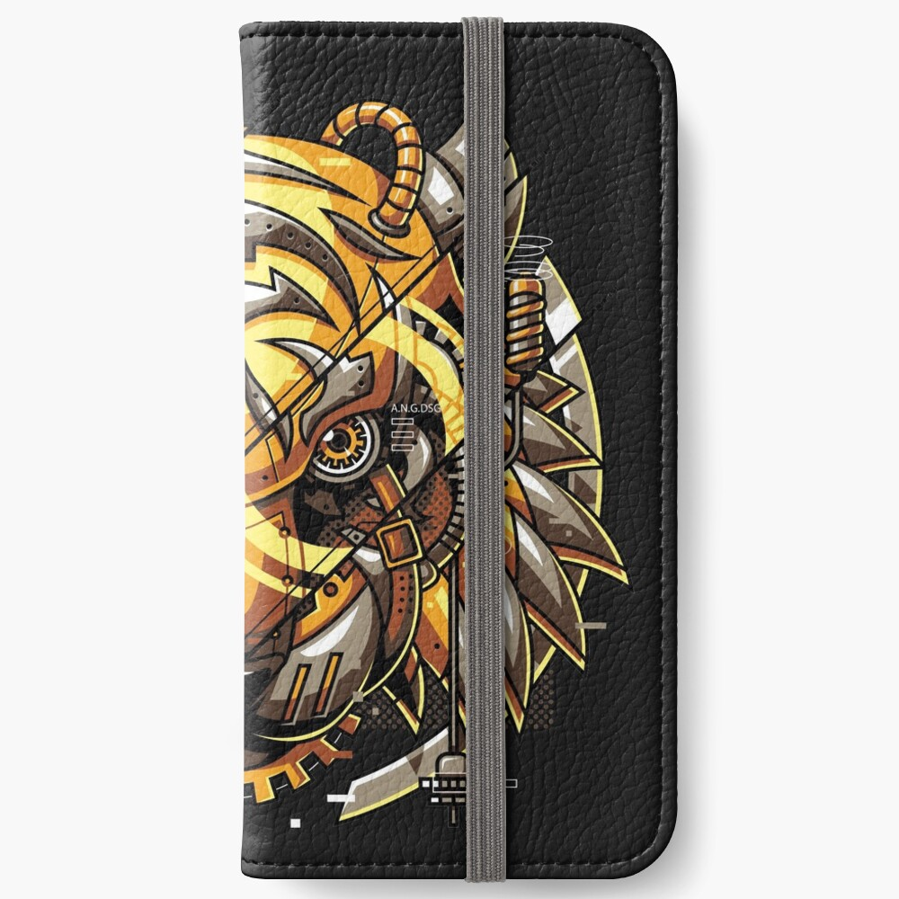 Digitalized Tiger iPhone Wallet