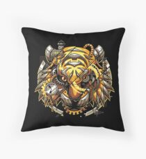 Digitalized Tiger Floor Pillow