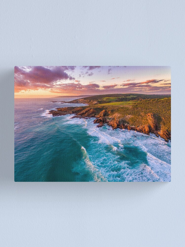 Alternate view of Wyadup Rocks at Sunset Canvas Print