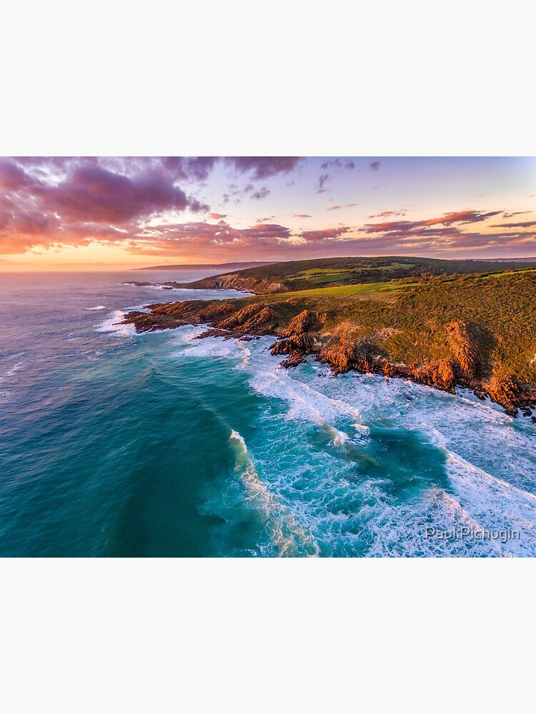 Wyadup Rocks at Sunset by paulmp