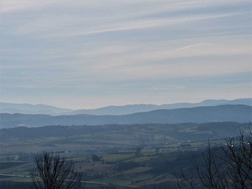 Kocaeli Hills by tomeoftrovius