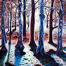 'Sunset Woods' by Jerry Kirk
