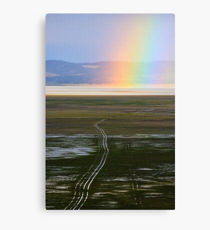 Lake George Rainbow Canvas Print