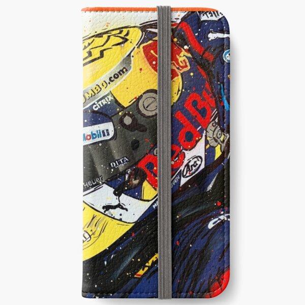 Max Verstappen - 2019 F1 graffiti painting by DRAutoArt iPhone Wallet