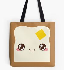 Buttered Toast Tote Bag
