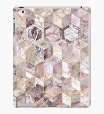 Blush Quartz Honeycomb iPad Case/Skin