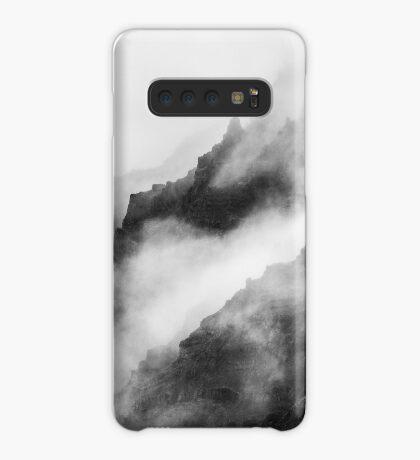 Montañas de niebla gris Funda/vinilo para Samsung Galaxy