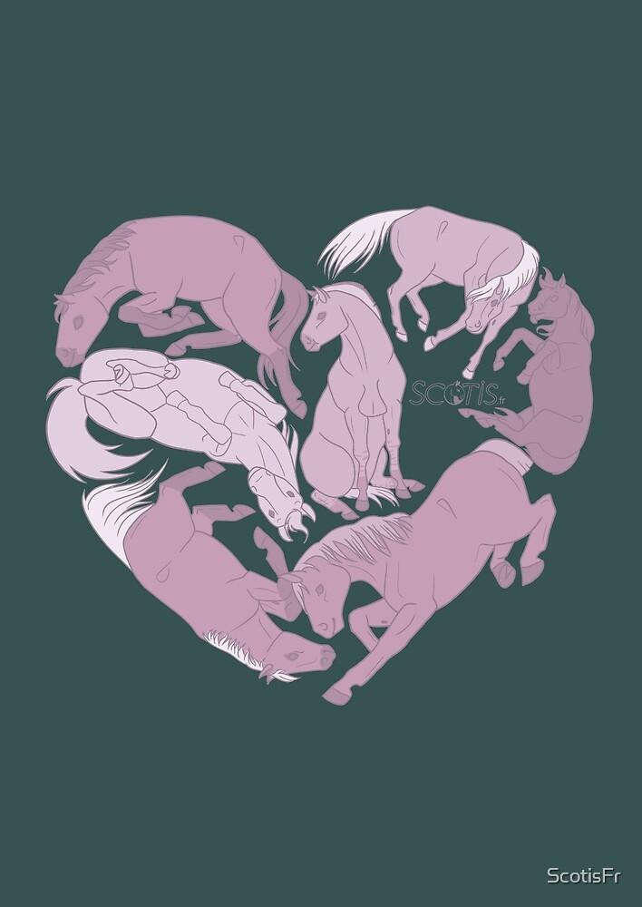 « Cœur de cheval [Cheval] » par ScotisFr