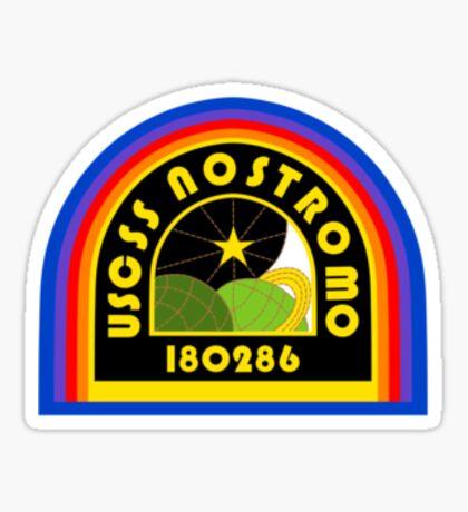 Nostromo Patch Sticker