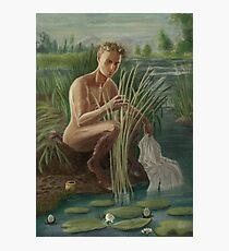 Young Pan Catches Syrinx Photographic Print