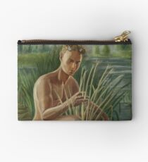 Young Pan Catches Syrinx Zipper Pouch