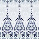 Boho Blues Doodle by micklyn