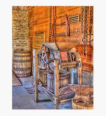 Old Cider Press Photographic Print