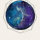 Purple Galaxy by Sybille Sterk