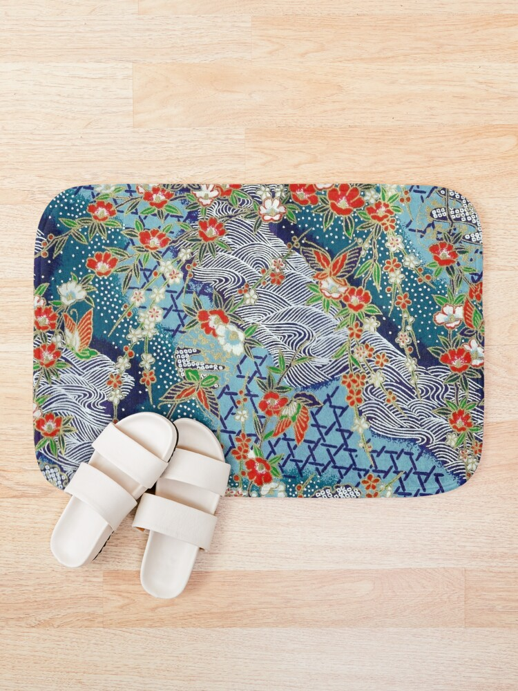Alternate view of Japanese River Bath Mat
