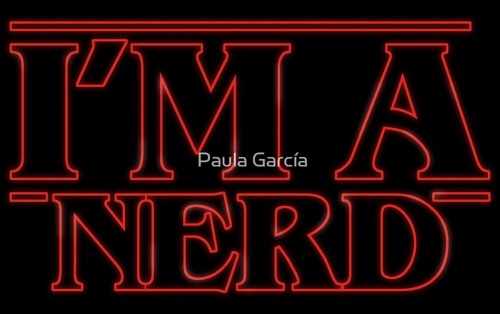 «I'm a nerd» de Paula García