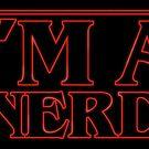 I'm a nerd by Paula García