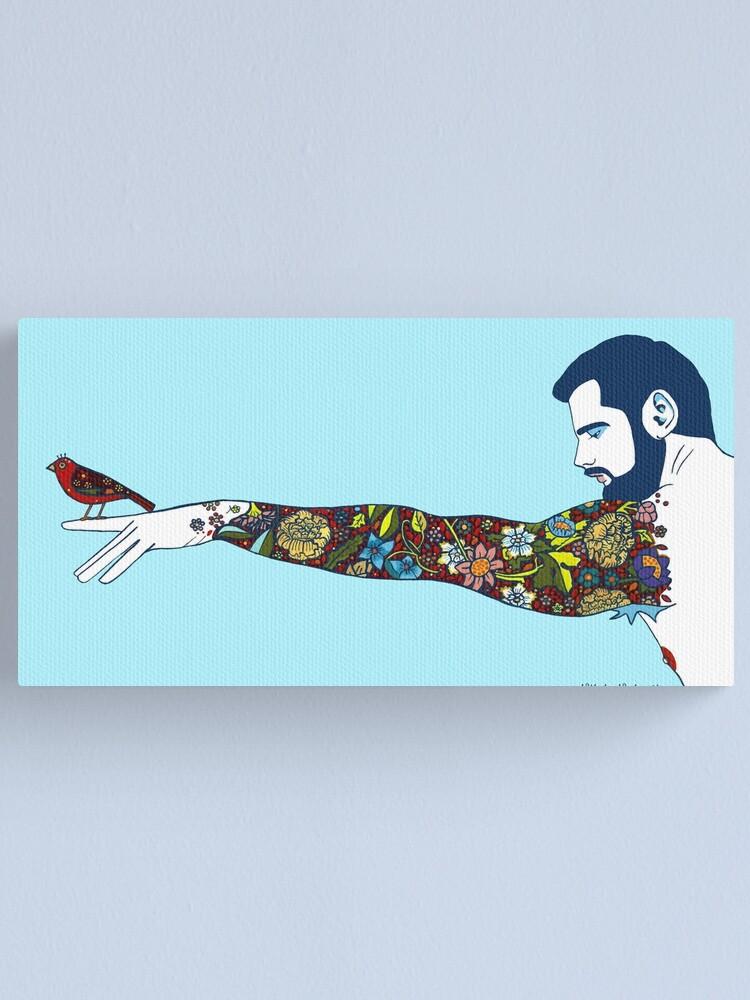 Alternate view of Fly Away Little Bird Canvas Print