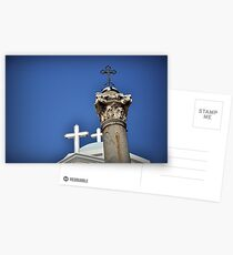 Greece - KOS - Crosses on the main square Postcards
