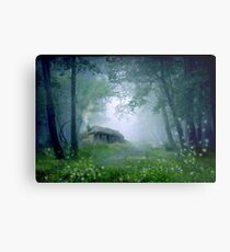 The Cottage in the Woods Metal Print