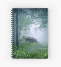 The Cottage in the Woods Spiral Notebook