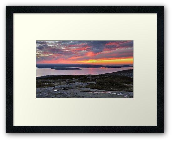 Sunrise, Cadillac Mountain by Stephen Vecchiotti