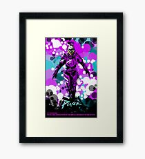 In The Future The Protagonist Is Already Dead Framed Print