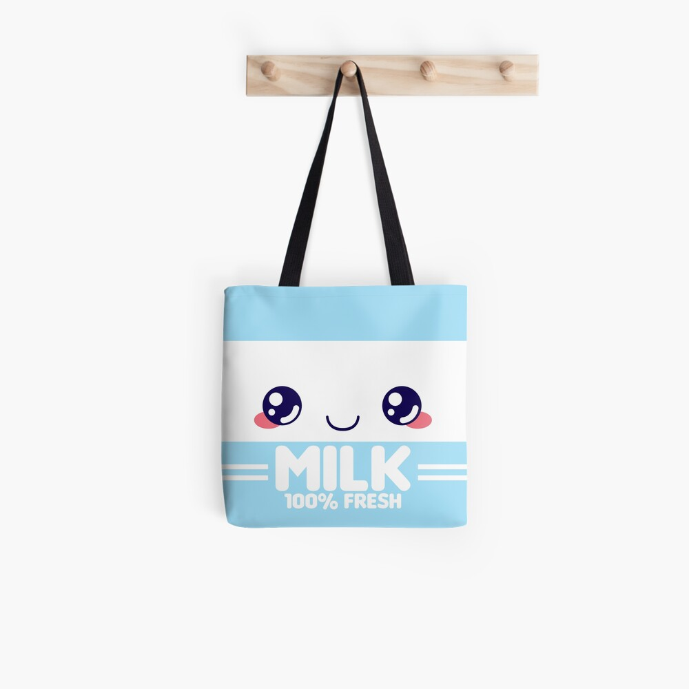 Milchpackung Tote Bag