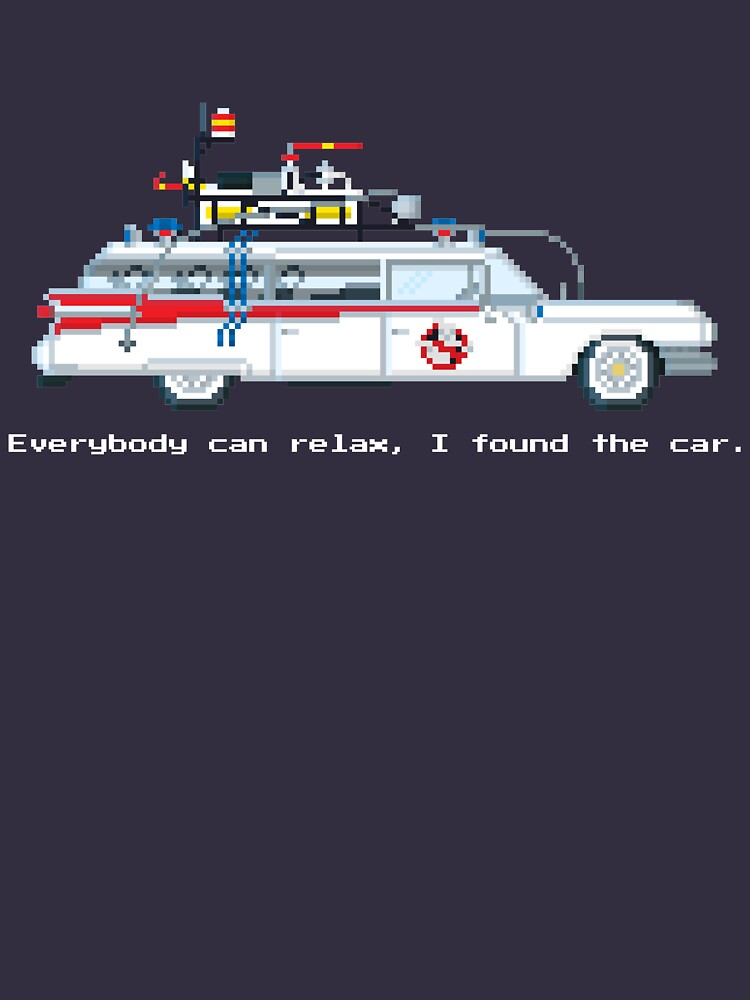 Ecto 1 - Ghostbusters Pixel Art by Gwendal