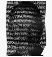 Steve Jobs–Don't Settle v2 Poster