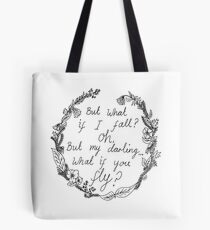 Peter Pan - What If You Fly? Tote Bag