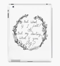 Peter Pan - What If You Fly? iPad Case/Skin