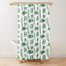 Leaf Set Shower Curtain