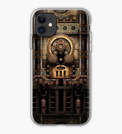 Infernal Steampunk Vintage Machine #3 iPhone Case