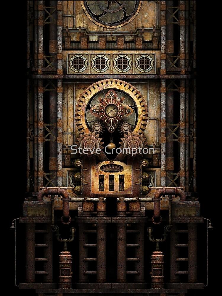 Infernal Steampunk Vintage Machine #3 by SC001