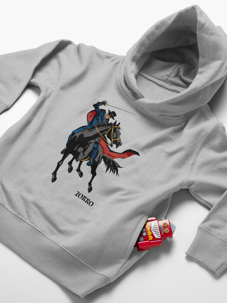 Alternate view of Zorro Toddler Pullover Hoodie