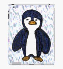 Batik Sad Penguin iPad Case/Skin
