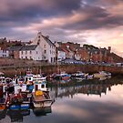 Crail Harbour by KitDowney