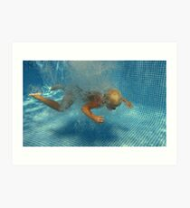 underwater 2 - mission impossible Art Print