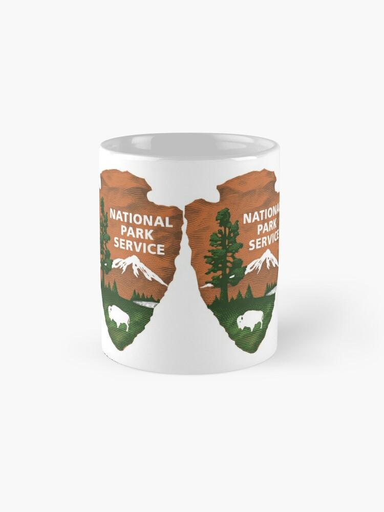 Alternative Ansicht von Nationalpark Service Tasse
