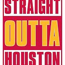 STRAIGHT OUT OF HOUSTON - Basketball by devilshalollc
