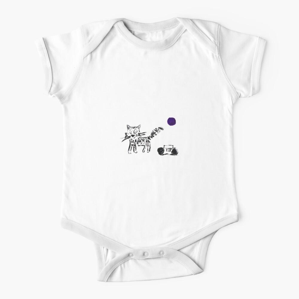Radio Cat Baby One-Piece