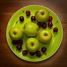 Apples and Cherries by Arjuna Ravikumar