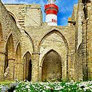 Abbey and Saint-Mathieu Lighthouse by Jean-Luc Rollier