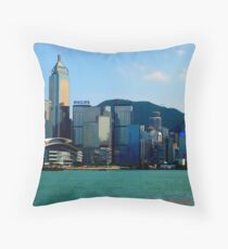 Hongkong Throw Pillow