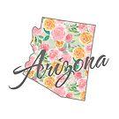 Arizona State | Blumendesign von PraiseQuotes