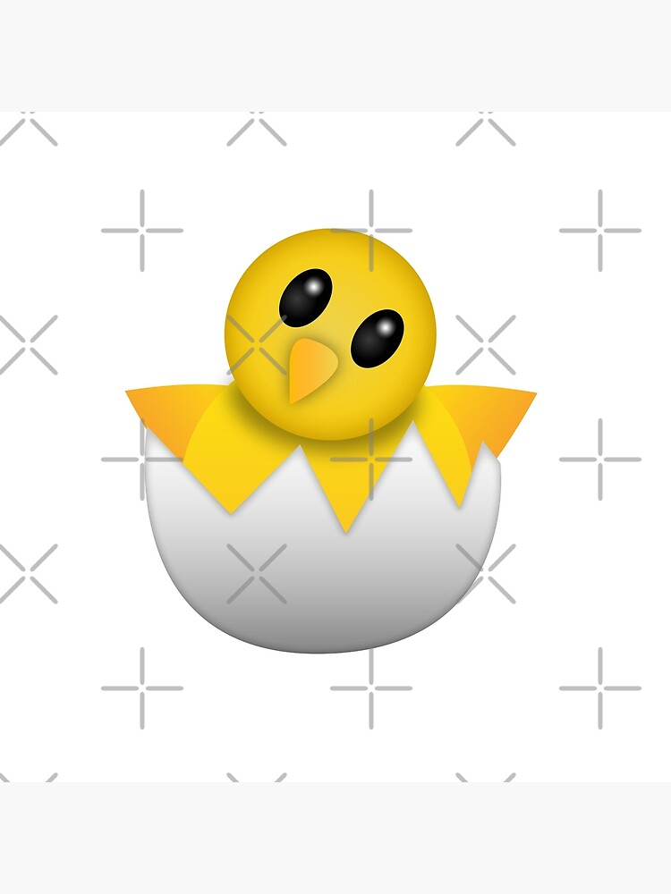 Brütendes Babyküken Emoji von DCornel