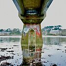 The Conquet - Under the bridge by Jean-Luc Rollier